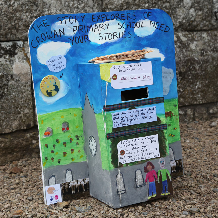 Another story-collection box which is currently at Crowan Church